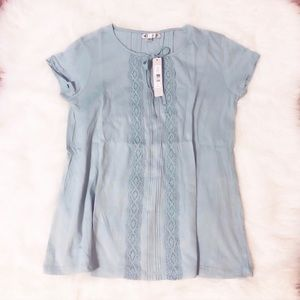 Tops - NWT | blue tee